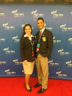 Wilma PR State President 2012-2013  Fernando Vega PR State President 2013-2014