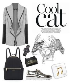 """Coolcat"" by wearall ❤ liked on Polyvore featuring WearAll, Henri Bendel, Happy Plugs, Vivienne Westwood and STELLA McCARTNEY"