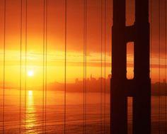 San Francisco sunset - My favourite American city!