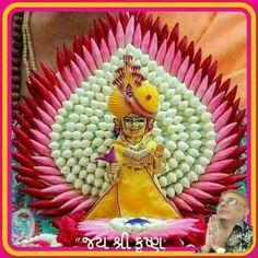 Janmashtami Decoration Ideas Home Diy Housewarming Decorations, Diy Diwali Decorations, Festival Decorations, Flower Decorations, Gauri Decoration, Decoration For Ganpati, Krishna Birthday, Ganesha Rangoli, Ganesh Chaturthi Decoration