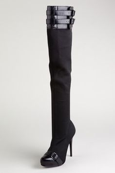 Thigh high boots. Cute for fall, with jeans or leggings.