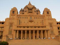 Back Facade, Umaid Bhawan Palace