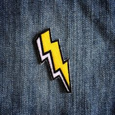 The Bolt Patch by LesTatoues on Etsy