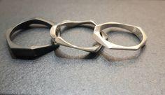 #pierścionki #srebro #design #biżuteriaartystyczna #margotstudio
