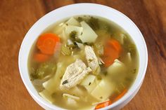 Chicken Noodle Soup Recipe on Yummly. Taco Pasta Recipes, Grilled Shrimp Recipes, Skewer Recipes, Roast Chicken Recipes, Garlic Recipes, Soup Recipes, Chili Recipes, Marinara Recipe, Frittata Recipes