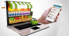 How online grocery shopping creating revolution in the world Online Grocery Store, Store Online, Online Shopping, Food Web Design, Instant Recipes, Website Design Company, Grain Foods, Food Waste, Food Packaging