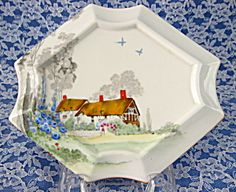 Use this under your teapot for a nice addition to your table! Shelley Cottage 2 Teapot Trivet Art Deco Queen Anne Thatched Cottage http://www.tias.com/shelley-cottage-2-teapot-trivet-art-deco-queen-anne-thatched-cottage-676871.html