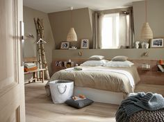 Chambre nature chic  #bedroom #nature #chic
