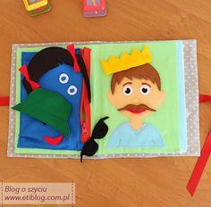 Miękka książeczka edukacyjna dla dziecka - szycie krok po kroku - eti blog o szyciu