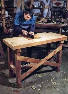 Home Workshop Workbench Plans - Workshop Solutions Projects, Tips and Tricks - Woodwork, Woodworking, Woodworking Plans, Woodworking Projects