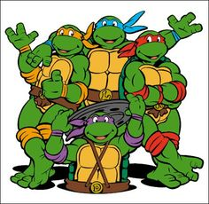Teenage Mutant Ninja Turtles, my dear old childhood obsession