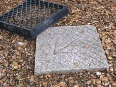How to make an easy steppingstone  Posted on October 21, 2011 by Sue Langley  My friend crafty friend, Cheryl, and I have been at it again! We had a brainstorm! This stepping stone can be made in a snap using Ready-mix concrete and a plastic flat used by nurseries to hold ground covers. You can even reuse the mold to make more than one!