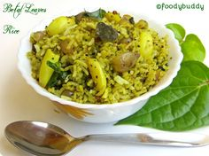 Betal Leaves Rice / Vetrillai Sadham