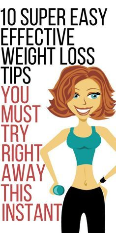 10 easy effective weight loss tips you must try today.