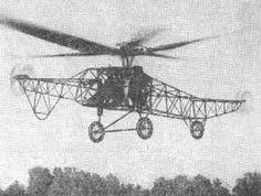 Bratukhin TsAGI-1EA 1930 - first Soviet helicopter
