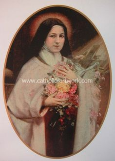 Catholic Artwork - St. Therese of Lisieux , $7.99 (http://www.catholic-artwork.com/st-therese-of-lisieux/)
