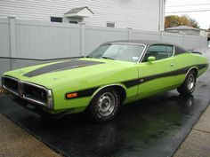72 Charger....the history of cars!