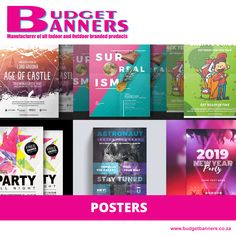 [PRODUCT] If you're looking to grab the attention of the public, be it for your business or an event, we offer poster printing services, giving you an opportunity to make people aware of your message!