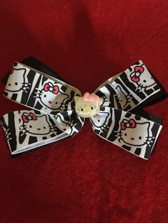 A personal favorite from my Etsy shop https://www.etsy.com/listing/509306102/hello-kitty-haur-bow