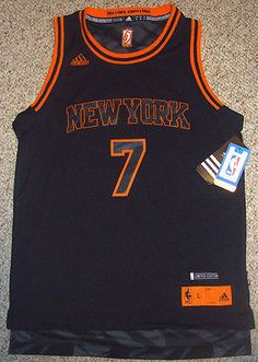 53bbfe273 Adidas NBA NEW YORK KNICKS Carmelo Anthony Stacked Youth Jersey Size L New  York Knicks