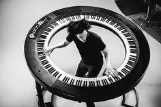 PianoArc: het volledig ronde keyboard