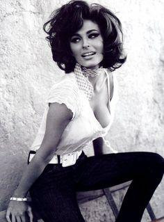 """ciucciarella:  """"Un gentleman, c'est celui qui est capable de décrire Sophia Loren sans faire de geste… [L'Immense Michel Audiard]  """""""