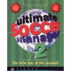 Ultimate Soccer Manager 2 for PC from Sierra on CD