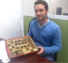 Hoy celebramos el cumpleaños de Ismael, nuestro director de marketing y... ¡Mirad con lo que nos ha sorprendido!