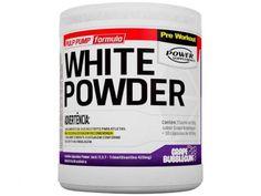 White Powder Pré-Treino 150g + 30 Cápsulas Uva - Power Supplements com as melhores condições você encontra no Magazine Tell. Confira!