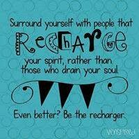 Be the recharger !