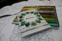 Me & Em Mandala colouring book - find me on Etsy or facebook!