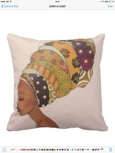 Afrocentric cushions by Ma Nubiah www.manubiah.co.uk