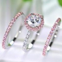 Prom 925 Silver White Topaz Engagement Mariage Infinity Band Ring Taille 6-10
