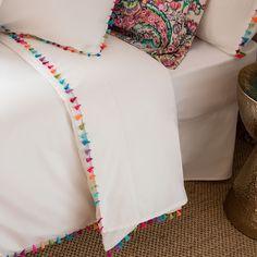 POMPOM PERCALE BED LINEN - Bed Linen - Bedroom | Zara Home Türkiye / Turkey