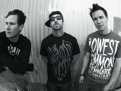 Blink 182 without you my life would not be what it is. Rad music, husband I met in line waiting to hear you, et cetera.  <3