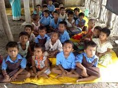Primary education is the first stage of compulsory education. It is preceded by pre-school or nursery education and is followed by secondary education.