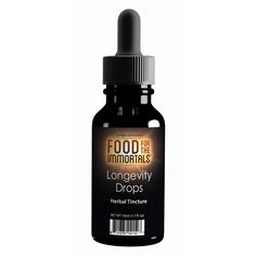 Food for the Immortals® Longevity Drops™, 50 mL