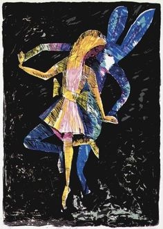 Charles Blackman ~ Dancing Alice