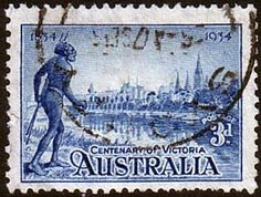 Australia 1934 SG 148a Victoria Centenary Perf 11 5 Fine Used SG 148a Scott 143a More British Commonwealth Stamps to see Here