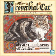 The Proverbial Cat Calendar 2016