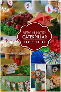 The Very Hungry Caterpillar School Party - Spaceships and Laser Beams