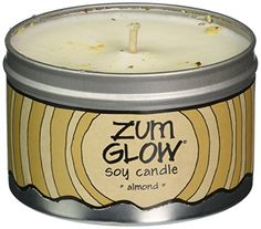 Indigo Wild Zum Glow Soy Candles Almond * You can find more details by visiting the affiliate link Amazon.com.
