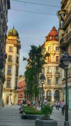 A Side street of Knez Mihajlova yoga scenery - http://amzn.to/2iaVqk0