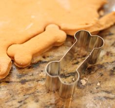 Homemade Pumpkin Dog Biscuits