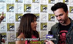 What will happen when Skye and Ward finally see each other again?