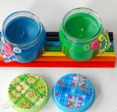 Что можно сделать из баночек для детского питания-2 .(много фото!)