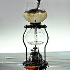 Bunsen Burner Percolator Coffee
