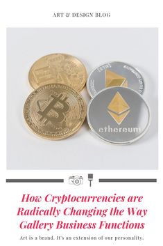 Bitcoin, Ethereum, other cryptocurrencies and blockchain technology - how do they influence the future of the art market? Original Artwork, Original Paintings, World Trends, Raising Capital, Art Database, Blockchain Technology, Art And Technology, Art Market, Art World