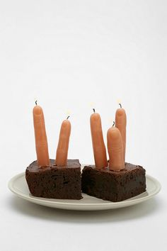 FINGER FIRE. Ain't nothin' like it. Creepy finger candle perfect for illuminating any Halloween party (or pastry) - includes 4 fingers + 1 thumb. We love to use 'em as a spooky prop, too! Pack of 5. #urbanoutfitters #creepitreal