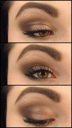 Look using the Naked 3 palette